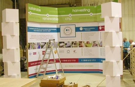 exhibition stand design london