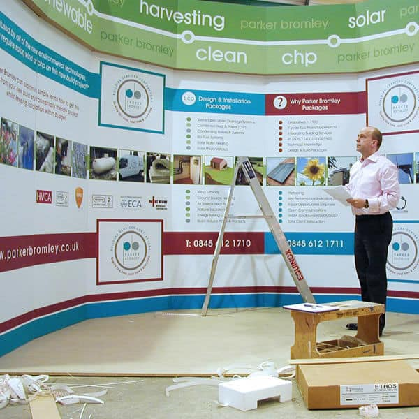 commercial exhibition stand design