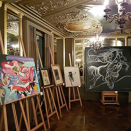 Iranian Art Gallery Exhibition