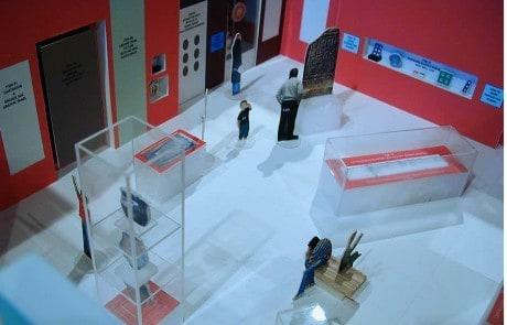 museum interior spaces