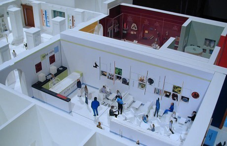 museum interiors cafe
