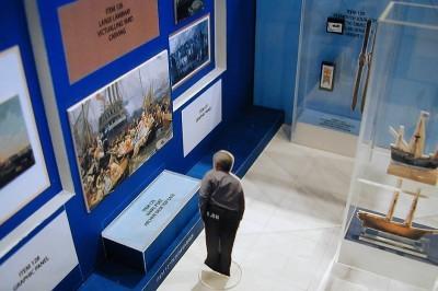 museum layout design 3D