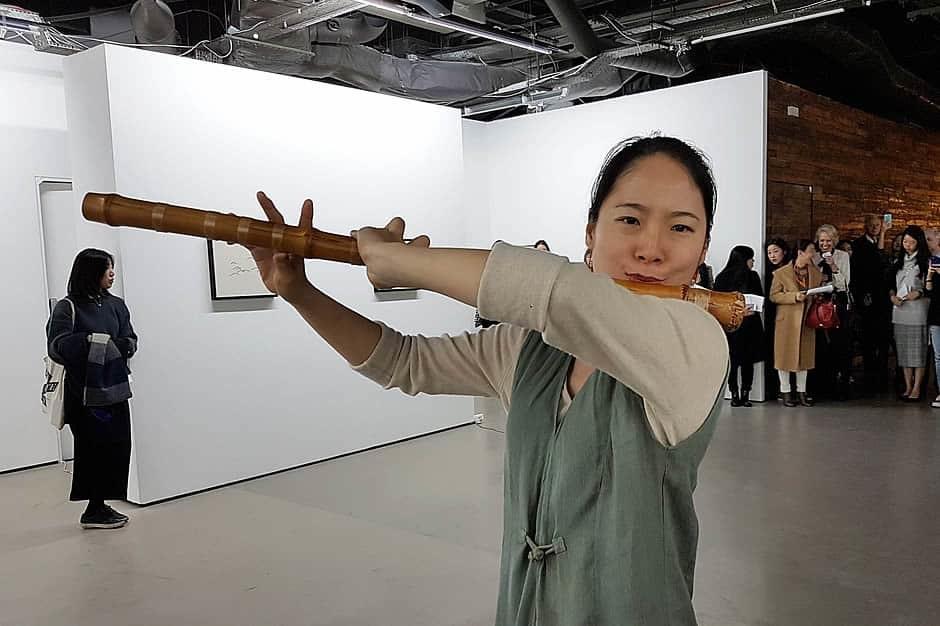 exhibition lighting Korean Culture Centre UK